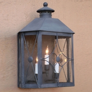 Lighting Innovations WB1812 Exterior 10.5 Wide x 13.6 Tall Light Sconce