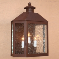 Lighting Innovations WB1912 Exterior 10.5 Wide x 13.6 Tall Wall Mounted Lamp