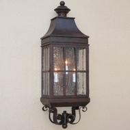 Lighting Innovations WB2011 Exterior 6.9 Wide x 20.5 Tall Lighting Wall Sconce