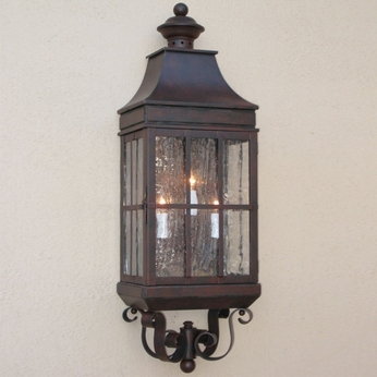 Lighting Innovations WB2013 Exterior 8.9 Wide x 26.8 Tall Wall Sconce Lighting