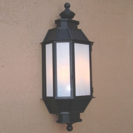 Lighting Innovations WB2128 Exterior 14 Wide x 30.6 Tall Wall Light Sconce