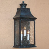 Lighting Innovations WB2404 Outdoor 10 Wide x 21.8 Tall Wall Lighting Fixture