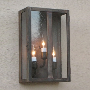 Lighting Innovations WB4150 Exterior 4 Wide x 6 Tall Lamp Sconce