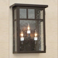 Lighting Innovations WB4404 Outdoor 11  Wide x 14  Tall Light Sconce