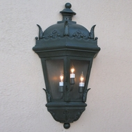 Lighting Innovations WB5856 Traditional Outdoor 19  Wide x 36.4  Tall Wall Lighting