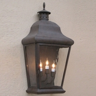 Lighting Innovations WB5951 Exterior 7.5  Wide x 17.1  Tall Wall Lighting Sconce