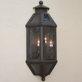 Lighting Innovations WB9125 Outdoor 7.3 Wide x 14.6 Tall Wall Light Sconce
