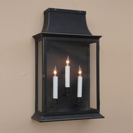 Lighting Innovations WB9541 Outdoor 8.3 Wide x 14.3 Tall Lamp Sconce