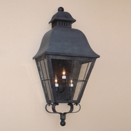 Lighting Innovations WB9833 Outdoor 12.8 Wide x 27.9 Tall Wall Sconce Light