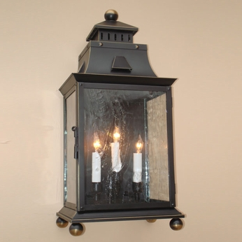 Lighting Innovations WB9933 Outdoor 12.1 Wide x 27.4 Tall Wall Sconce Light