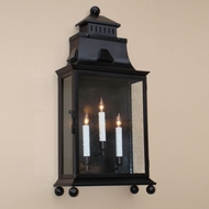 Lighting Innovations WB9943 Outdoor 12.1 Wide x 27.4 Tall Sconce Lighting