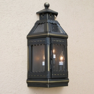 Lighting Innovations WBF9016 Outdoor 9 Wide x 16.9 Tall Lamp Sconce