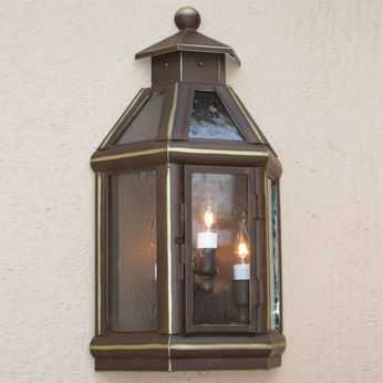 Lighting Innovations WBF9115 Outdoor 7.3 Wide x 12 Tall Wall Mounted Lamp