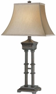 Lite Source C41020 Franz Dark Bronze Finish 17  Wide Table Lamp