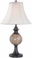 Lite Source C41200 O'Brien Dark Bronze Finish 28  Tall Table Light