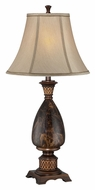 Lite Source C41293 Aldan Fluorescent Marble 33 Inch Tall Traditional Table Light