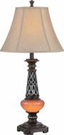 Lite Source C41321 Ellis Dark Bronze Finish 32  Tall Table Light
