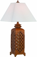 Lite Source C41323 Misha Dark Bronze Fluorescent Lighting Table Lamp