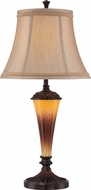 Lite Source C41325 Chelsey Dark Bronze Finish 15  Wide Table Lighting