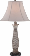 Lite Source C41353 Lourdes Light Brown Fluorescent Lighting Table Lamp