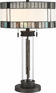 Lite Source C41430 Luisa Contemporary Matte Black Lighting Table Lamp
