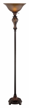 Lite Source C61301 Jerold 72 Inch Tall Antique Floor Lamp - Marble