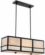 Lite Source C71402 Hyden Modern Dark Bronze Kitchen Island Lighting