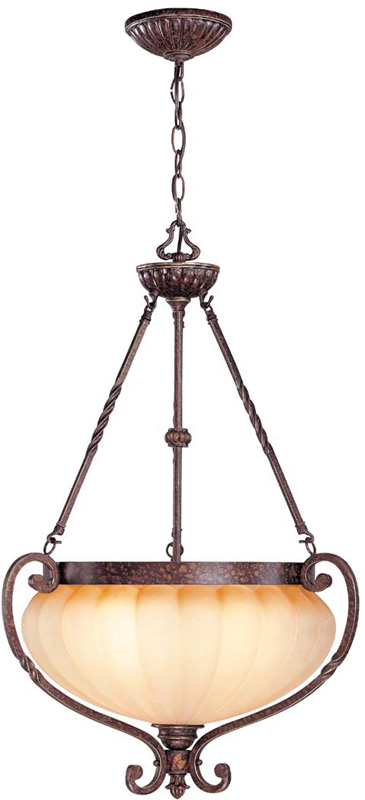 Lite Source C7937 Maxine Traditional Weathered Bronze Finish 32 Nbsp Tall Pendant Light Fixture Loading Zoom