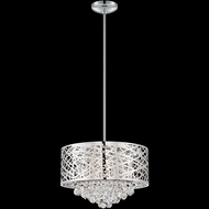 Lite Source EL-10101 Benedetta 16 Inch Diameter Contemporary Hanging Light - Chrome