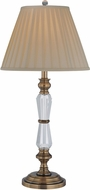 Lite Source ELF-30036 Cavallo Aged Bronze Fluorescent Side Table Lamp