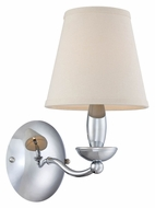 Lite Source LS--13991C Althea Contemporary Chrome Finish 7.5 Wide Wall Lamp