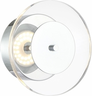 Lite Source LS-16068 Otoniel Contemporary Chrome LED Wall Sconce