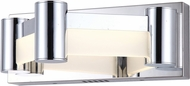 Lite Source LS-16555 Kellen Modern Chrome LED Light Sconce
