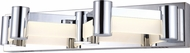 Lite Source LS-16556 Kellen Contemporary Chrome LED Lighting Sconce