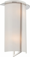 Lite Source LS-16674 Warren Contemporary Chrome Wall Sconce Lighting