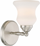 Lite Source LS-16691 Faina Brushed Nickel Wall Lamp