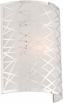 Lite Source LS-16788 Edric Contemporary Chrome Wall Lighting