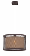 Lite Source LS-18797 Macyn Aged Rust Pendant Lighting Fixture
