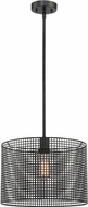 Lite Source LS-19017 Hamilton Contemporary Black Pendant Light