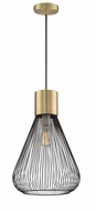 Lite Source LS-19093 Freira Modern Aged Bronze Pendant Light