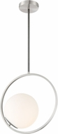Lite Source LS-19360 Equinox Modern Black Hanging Pendant Lighting