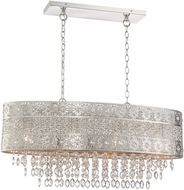 Lite Source LS-19496 Masura Modern Polished Nickel Kitchen Island Lighting