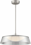 Lite Source LS-19548BN Noor Modern Brushed Nickel LED Pendant Lighting