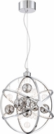 Lite Source LS-19577 Marilyn Modern Chrome LED Pendant Light Fixture