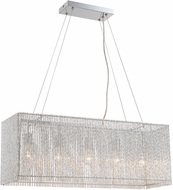 Lite Source LS-19578 Rania Contemporary Chrome Kitchen Island Lighting