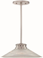 Lite Source LS-19792 Gale Modern Polished Steel Pendant Hanging Light