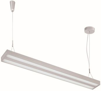 Lite Source LS-19795SILV Lael Contemporary Silver LED 70 Island Lighting