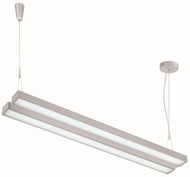 Lite Source LS-19796SILV Duena Modern Silver LED 73  Kitchen Island Lighting