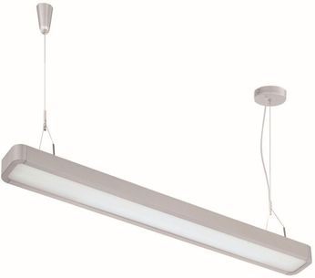 Lite Source LS-19798SILV Raylyn Contemporary Silver LED 2-Light Kitchen Island Light