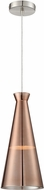 Lite Source LS-19853COPPER Cabello Modern Copper Drop Lighting